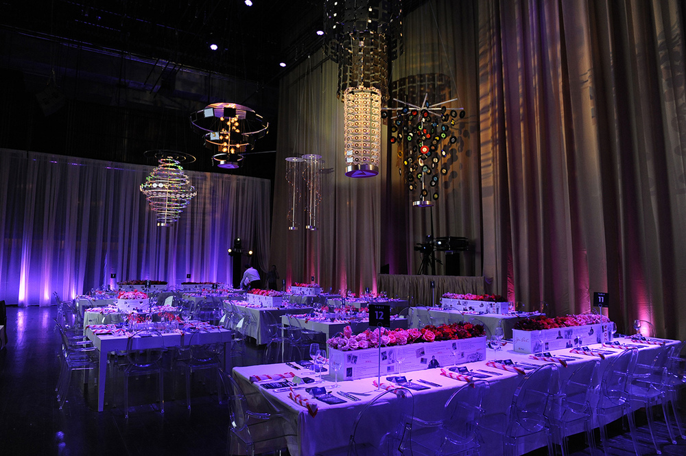 purple dining tables