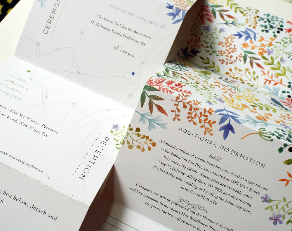 wedding invites watercolor
