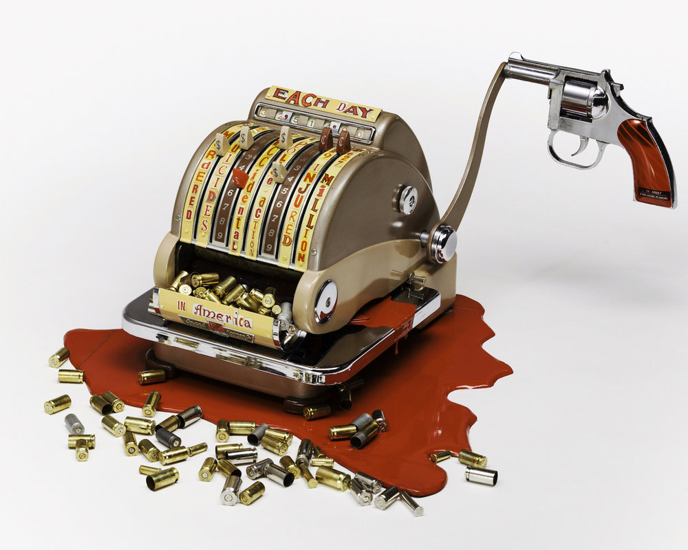 """""""Checking the Cost of Gun Violence"""" by Hariet Estele Berman"""