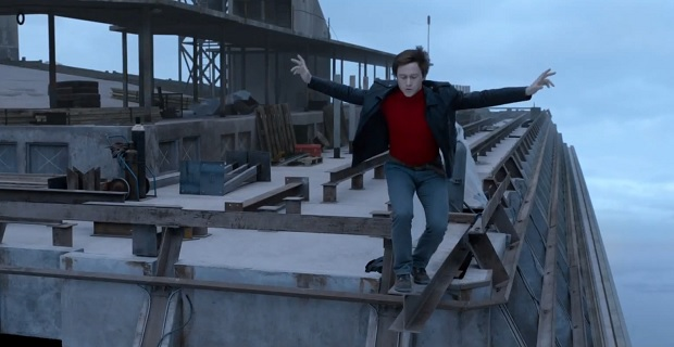 Marty McFly faces his fears and remembers: the whole entire world is a very narrow bridge