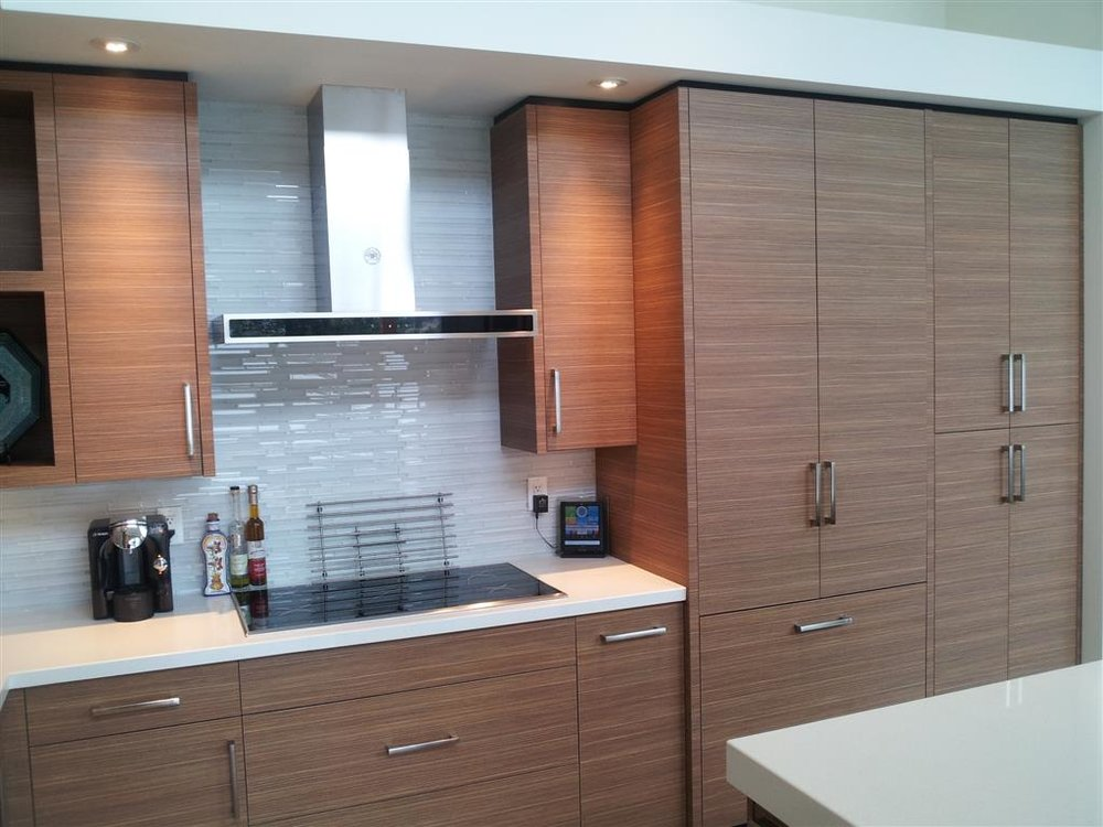 Modern Melamine Kitchen