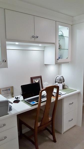 Closet Desk Area