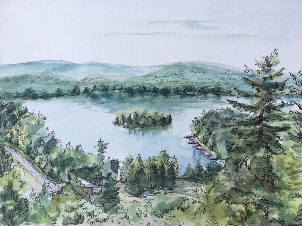 Fourth Lake, Adirondack Mountains