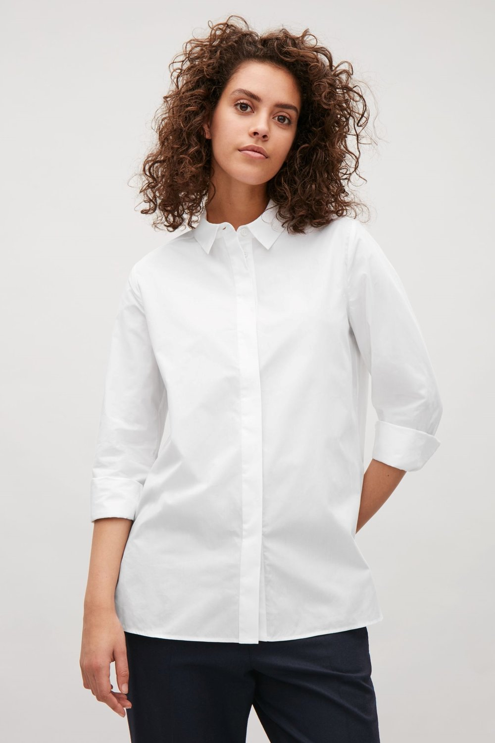 Cos Tailored Cotton Shirt, £55