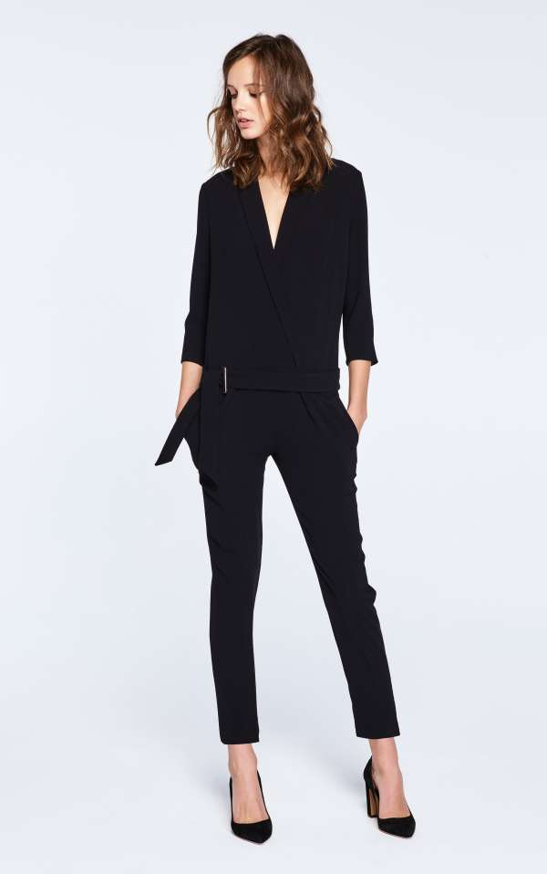 The one I am wearing in the above picture. Obviously also long-sleeved, incredibly easy to wear (can actually be dressed down with a pair of flats for a more casual look). But it's the only one from the selection which is not on sale unfortunately...  Ba&sh   Mosetta Jumpsuit , £280