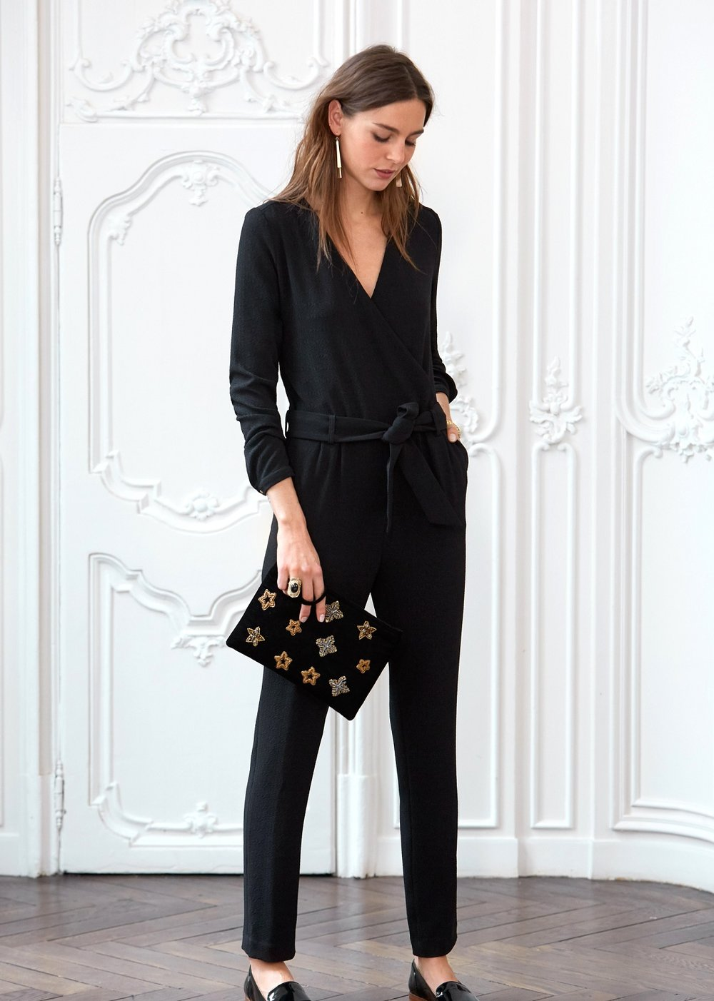 Very similar to the one I am wearing but much cheaper... I wish I had noticed this one first!  Sezane   Mila Jumpsuit , £125
