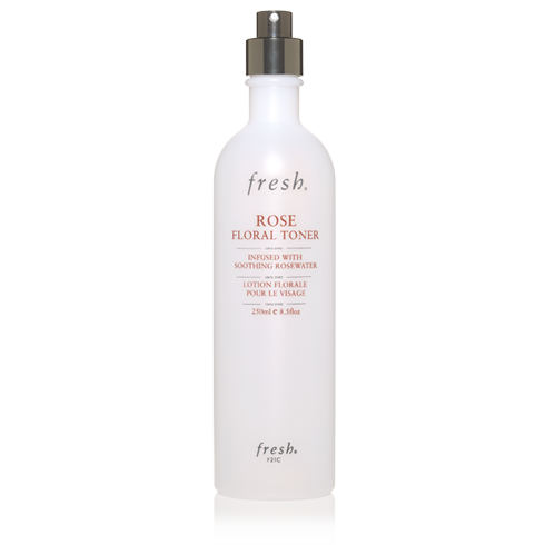 Fresh   Rose Floral Toner , £31.  The beauty product I no doubt use the most: to finish off the cleansing, to fix my make up, to moisten Muji's compressed face masks (below) or even on top of certain face masks. I have been buying this (very gentle) face toner for the last 5 years on repeat.