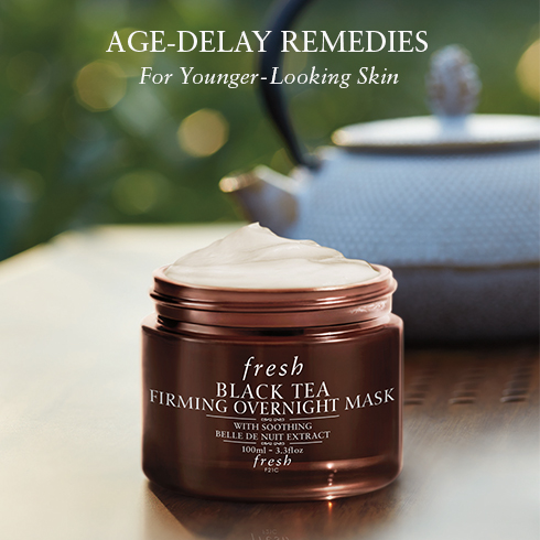 Fresh   Black Tea Firming Overnight Mask , £77.  Does not really feel like a mask which is why it is featuring in the hydration step of my beauty routine. Very rich texture. Quite pricey but lasts for ages. Bought it more than 1.5 years ago and still have some left although I use it every single night (and not very parsimoniously).