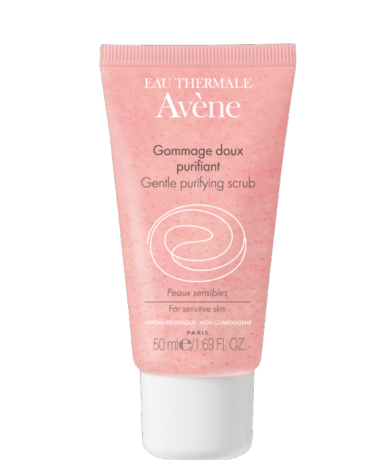 Avene Gentle Purifying Scrub, £7.12 (normally £9.50) at Escentual. Also a deeper cleanser but cheaper... My fall back option therefore when I am running out of Elemis and have spent all my money on clothes.