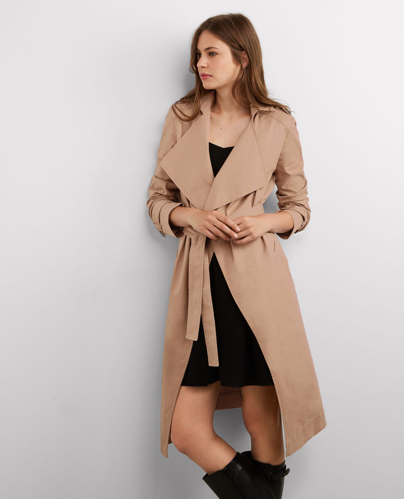 Comptoir des Cotonniers   Long Floaty Trench Coat Chamois , £78 (60% off) -  Really lie the fluidity of this one but only large sizes left unfortunately though.