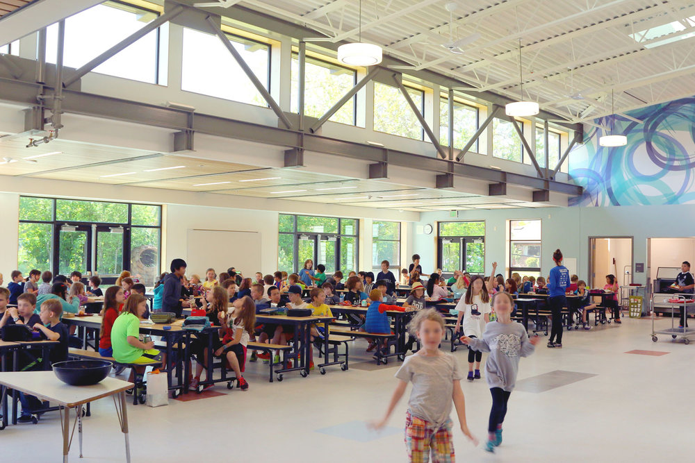 Green Lake Elementary Lunchroom