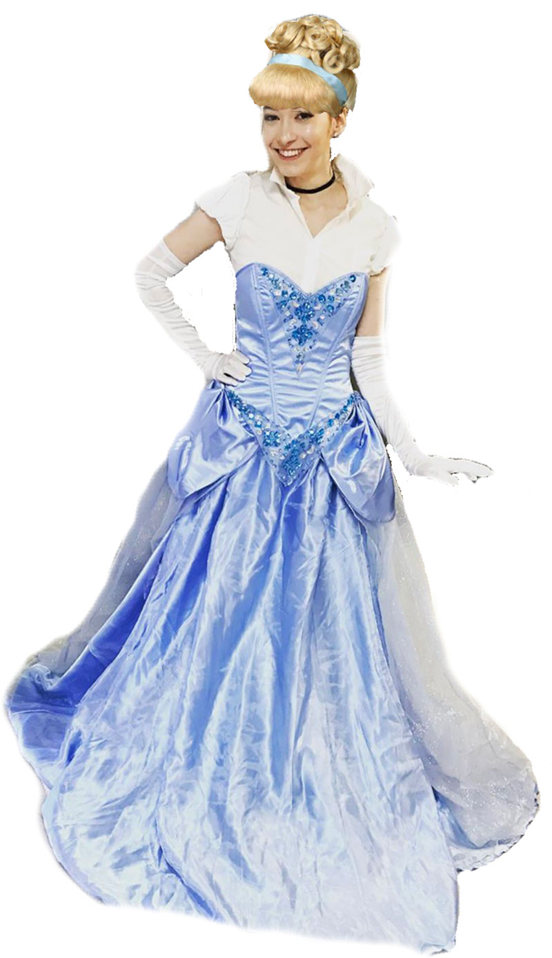 Sasha as Cinderella