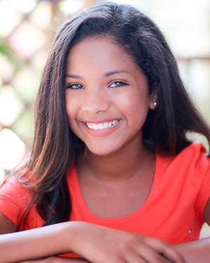 Jade Vargas   MGR would like to congratulate Jade Vargas! She just booked her 4th speaking role in a film!