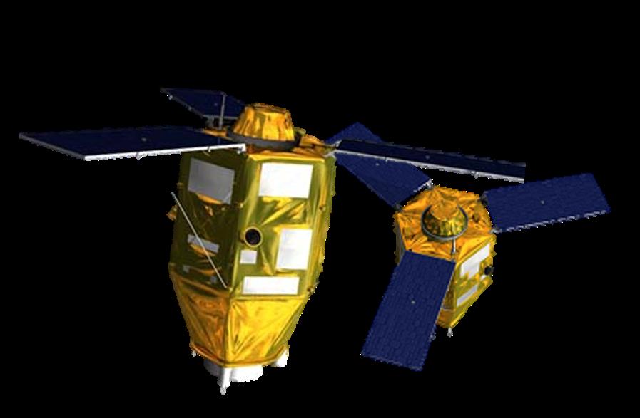Pleiades satellites. Credit: Blueline Publishing