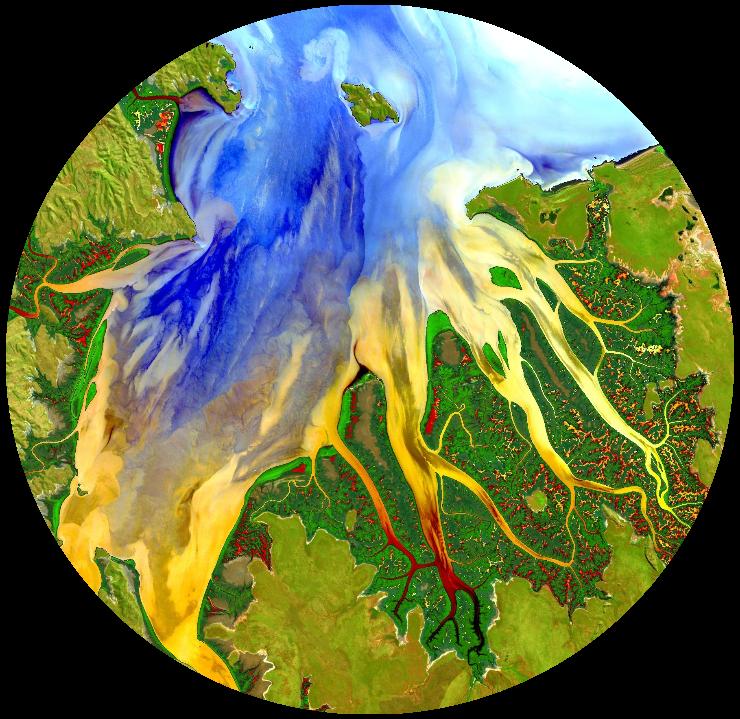 Landsat-8 image