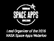 Waterloo Space Apps Challenge