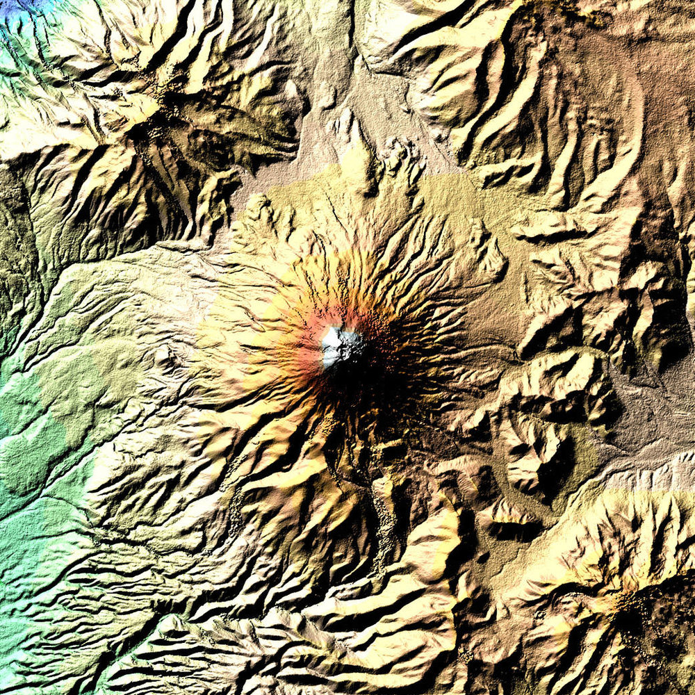 The Cotopaxi volcano - Image Credit: NASA Earth Observatory