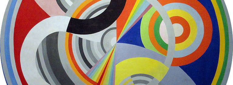 Robert Delaunay, 1938,   Rythme n°1 , Decoration for the Salon des Tuileries,