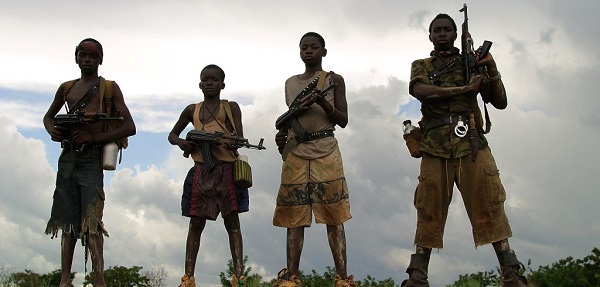 how many child soldiers are there
