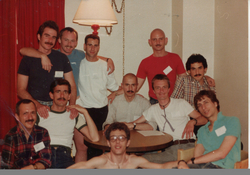 This image was on display as part of AIDS in New York: The First Five Years New-York Historical Society from June 07, 2013 - September 15, 2013