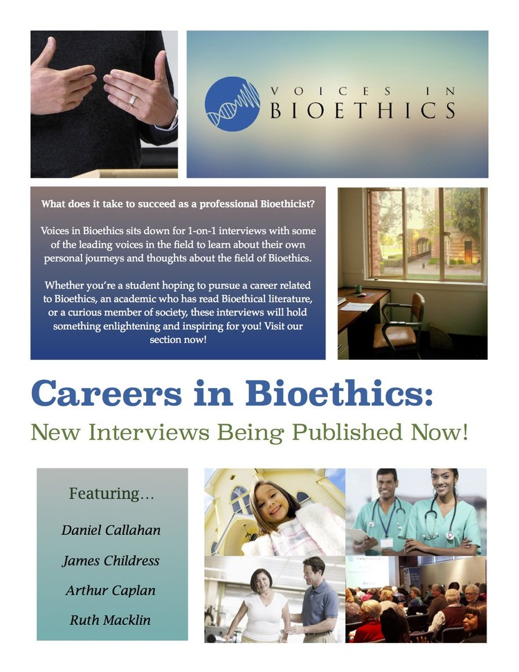An Interview with Dr  Daniel Callahan, Bioethics Pioneer
