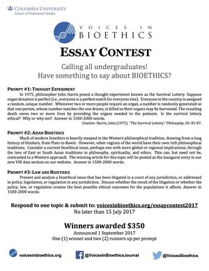 Indian Independence Day Essay  Essay Contest Samples Of Essays About Yourself also Business Argumentative Essay Topics Essay Contests  Voices In Bioethics Population Problems Essay