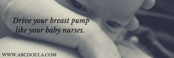 Breast pumping can be more like nursing if you approach it similary.