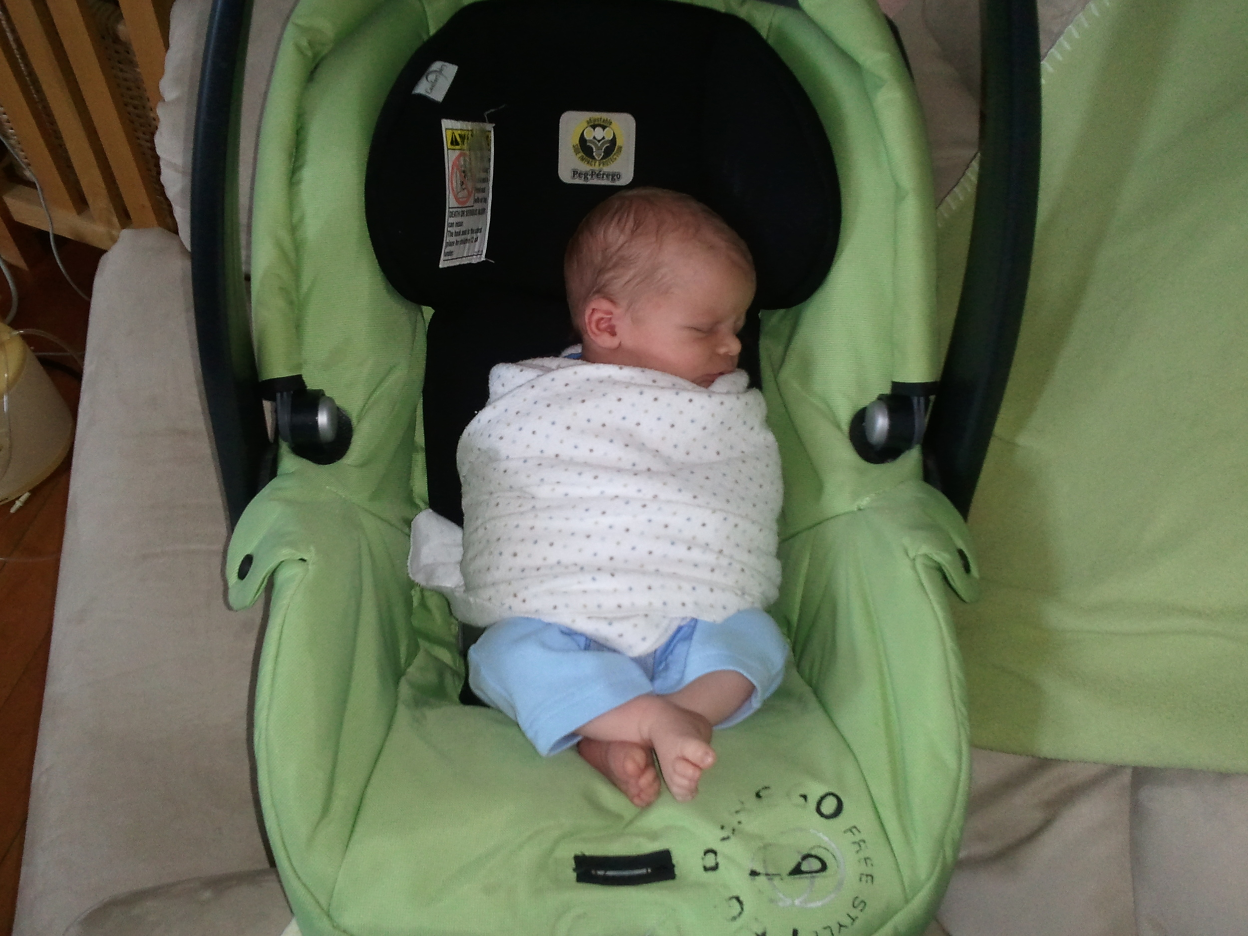 There Should Not Be A Lot Of Thickness Material Between The Baby And Car Seat Itself This Could Cause Problems In An Accident So It Is Important To