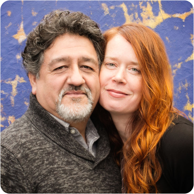Our photographers - Francisco Salgado and Kim Campbell with Campbell Salgado Studio in Portland, Oregon.