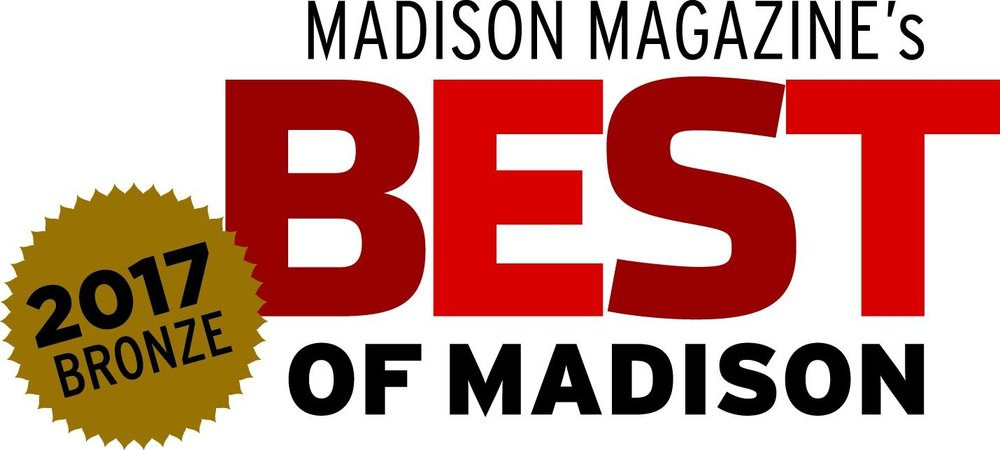 Voted Madison, WI's 2017 Bronze Best Alternative Fitness Studio!