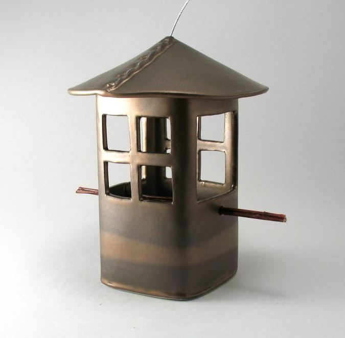 Bird feeder weathered bronze.JPG