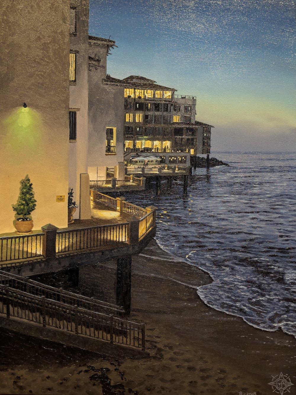 The Hidden Beach, Cannery Row 18 x 24.jpg