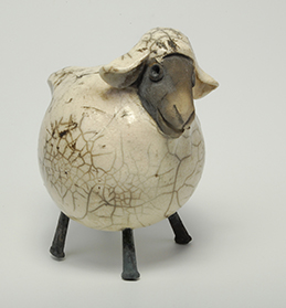 White sheep raku fired.jpeg