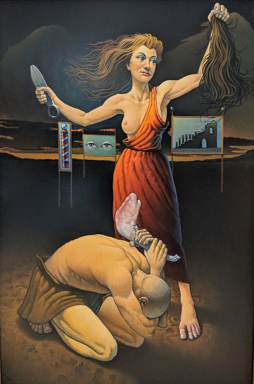 Samson And Delilah unframed.jpg