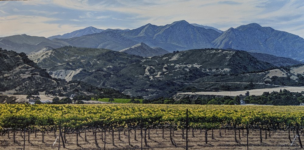 The Mountains Edge, Arroyo Seco 36 x 18.jpg