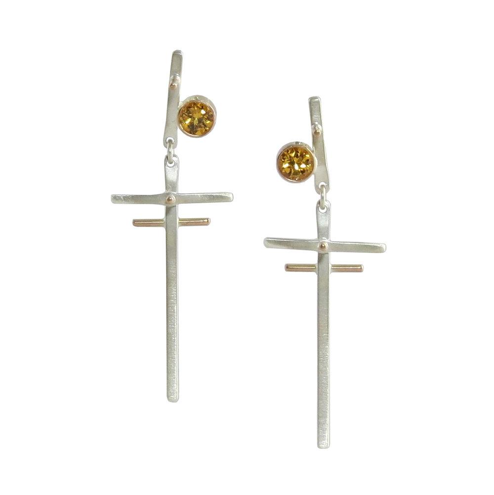 Web Fences spessartite earrings.jpg