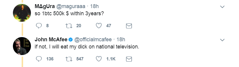 Original Tweet:   https://twitter.com/officialmcafee/status/887012614131372032