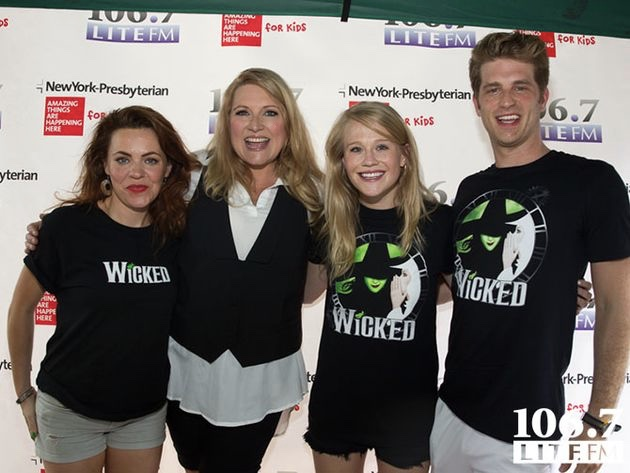Delilah seen here with performers from the Broadway play, Wicked. If you are theatrical, consider hosting a performance and donating the proceeds to Point Hope!