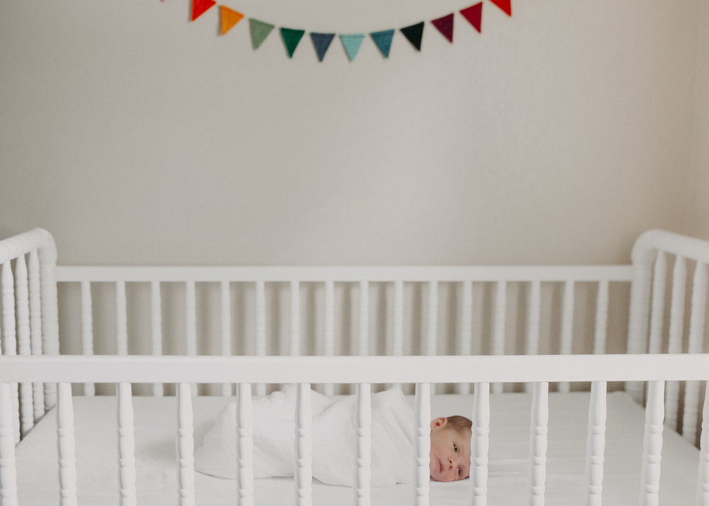 newborn photo session in Marshfield WI lifestyle in-home