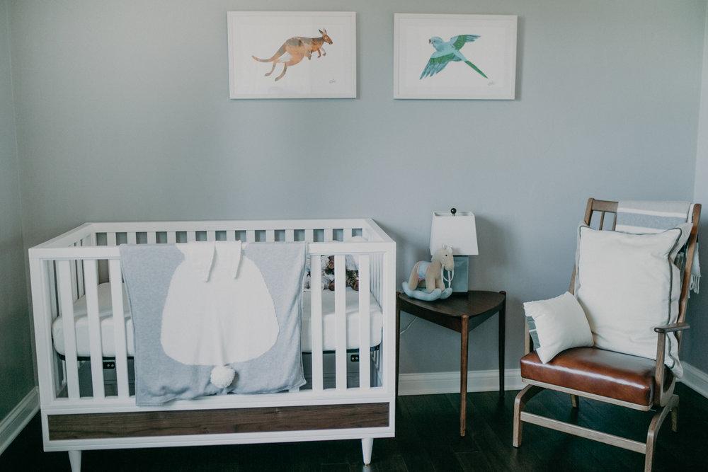 minimalist nursery in Wausau Wi