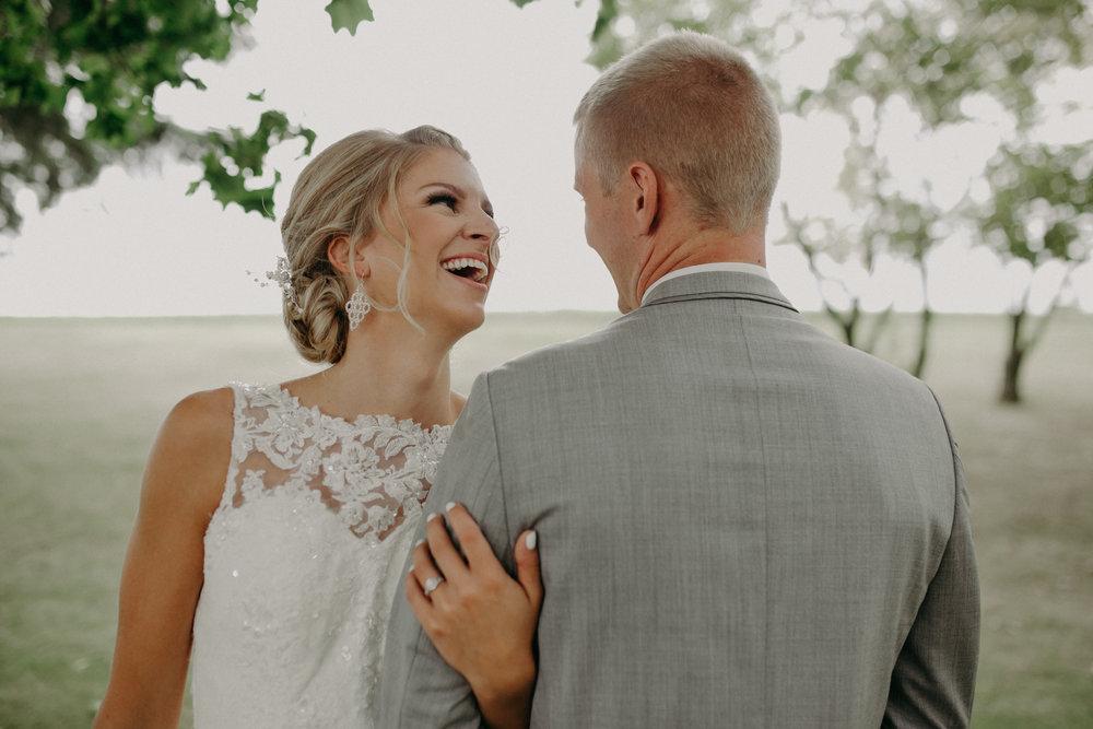 bride-groom-laughing-wedding-christ-lutheran-church-marshfield