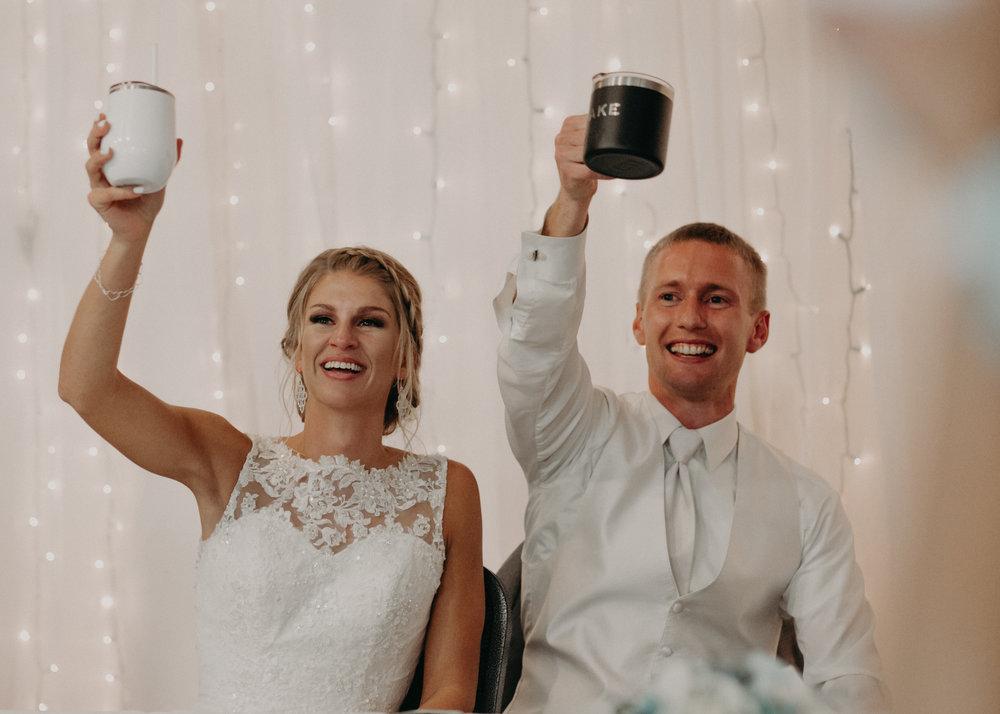 bride-groom-cheers-eagles-club-marshfield-wi