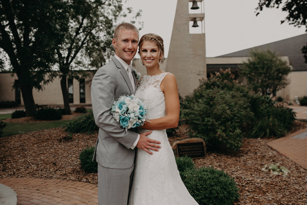 Lenz couple gets married at Christ Lutheran Church in Marshfield WI