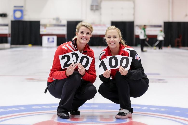 (FEATURE) Jensen & Schori reach milestone games - Written for the World Curling Federation