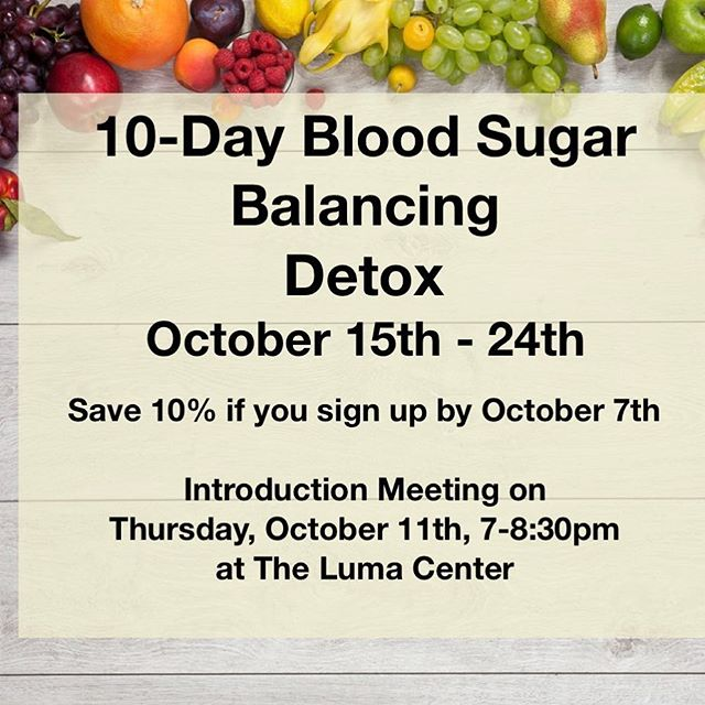 I've got a 10-Day group detox planned for October!  Supplements are geared towards bringing down blood sugar levels, reducing sugar cravings, and getting that liver tidied up so it can get a handle its job of balancing blood sugars. 🌟 Success Story - A detoxer from last year with Type II Diabetes continued taking the supplements.  She has had a significant reduction in her blood glucose levels and she rarely craves sweets.  So cool!! I'm not sure who is more stoked, me or her. 🙂  You can participate with the group in Petaluma, Ca,  or you can participate long distance. 🌟 If you've never done a cleanse, I highly recommend it.  It can be a total game changer.  Learn more at www.sageandsaltnutrition.com ✨ 🌟 ⚡️ #takebackyourhealth #cleanupyouract #detoxthatliver #sugardetox #10daydetox #cleaneating #glucoselevels #reducesugarcravings #sugarcravings #stopeatingsugar #healthylifestyle #hotmomma #happymom #standardprocess #cleanse #sugarfast #cleaneating