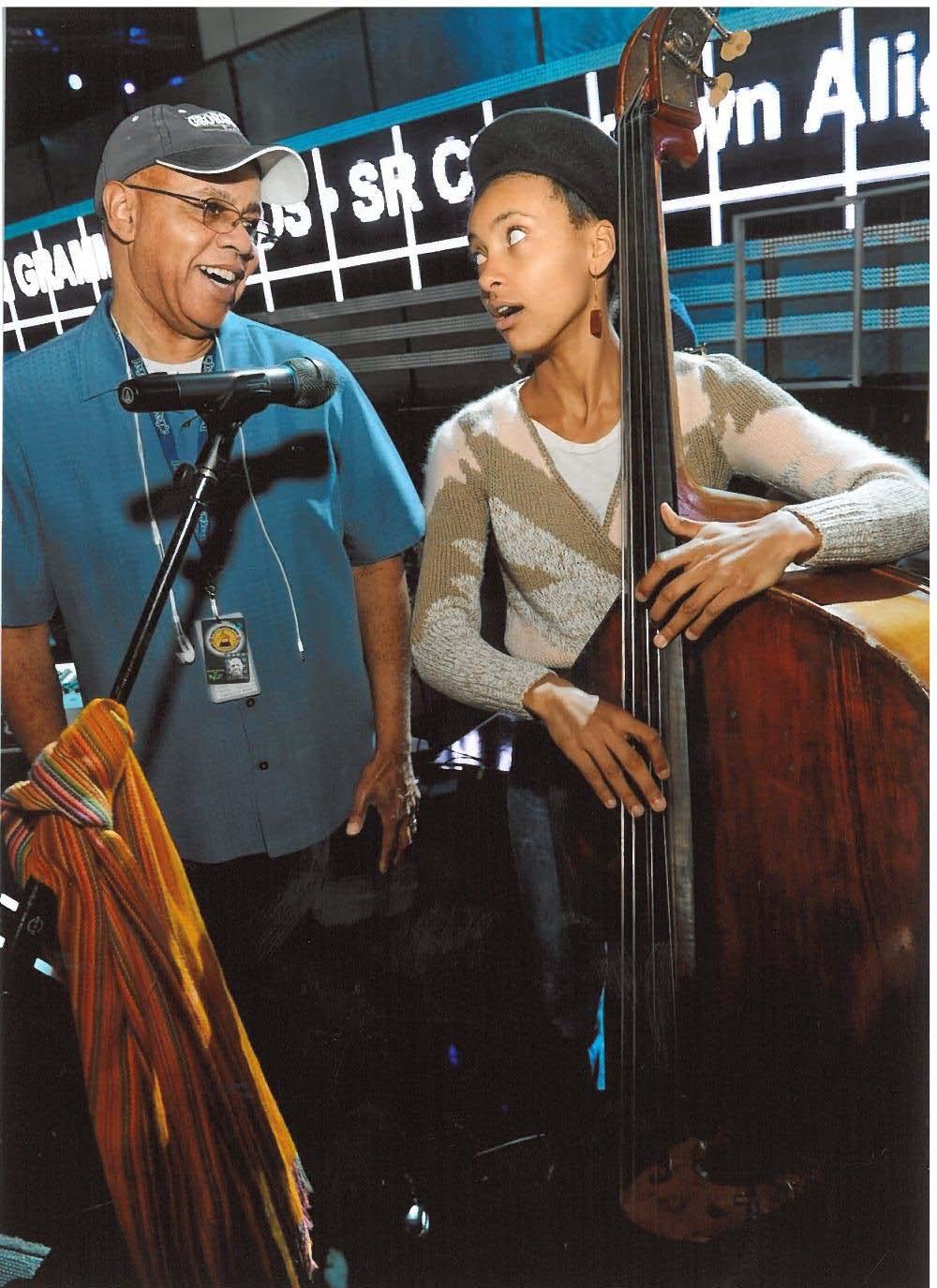 David & Esperanza Spalding in 2011