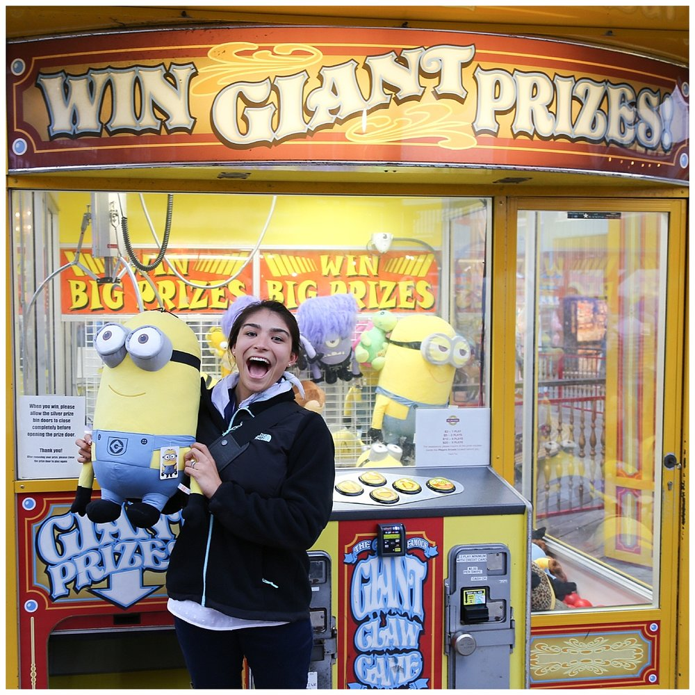 San Francisco Claw Machine