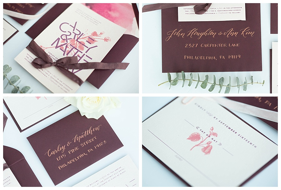 Invitations by Shindig Bespoke / Calligraphy by Tallulah Ketubahs
