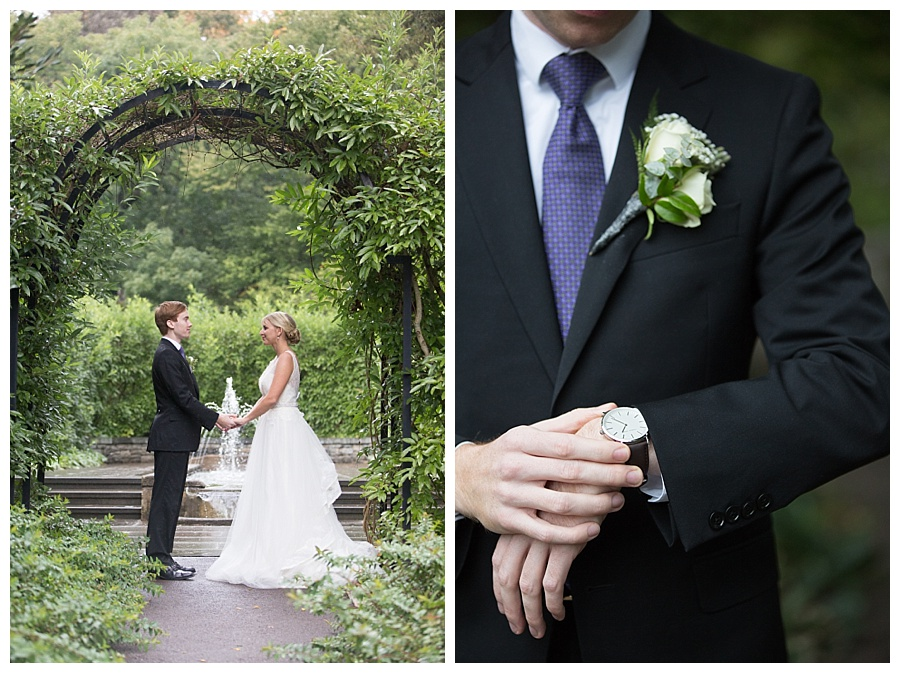 Venue, Morris Arboretum / Dress by Ashe B & Co.