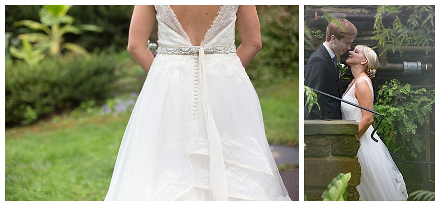 Dress by Ashe B & Co. / Venue, Morris Arboretum